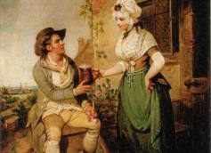 The Ale-House Door, Henry Singleton, 1790