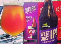 Green Flash Beer Connoisseur Pint Break West Coast IPA