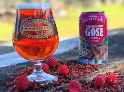 Anderson Valley Debuts Brewing Framboise Rose Gose