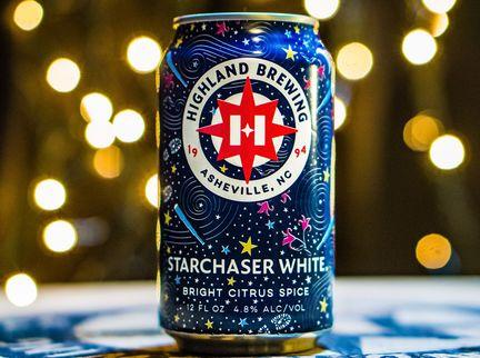 Highland Brewing Co. Adds Starchaser White to Year-Round Portfolio