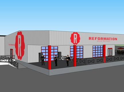 Reformation Brewery Announces New Production Facility and Taproom Opening in 2019