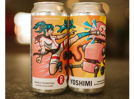 Reformation Brewery Unveils Yoshimi Rainbow Sherbet Sour