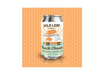 Wild Leap Brew Co. Debuts Truck Chaser Creamsicle Double IPA