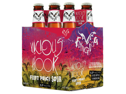 Flying Dog Brewery Unveils First Major Sour Release: Vicious Hook Fruit Punch Sour