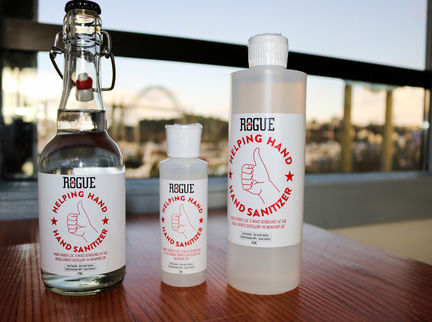 Rogue Ales & Spirits Turns Distillery Into Hand Sanitizer Production Facility