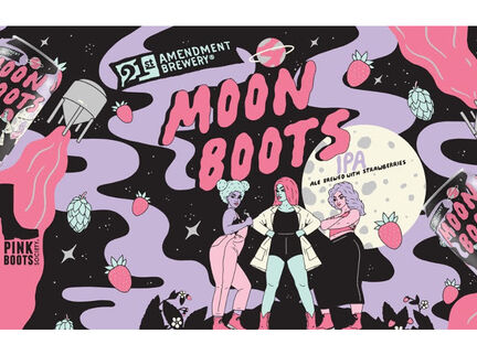 21st Amendment Brewery Advocates for Advancement of Women in Craft Beer Industry with Nationwide Release of Moon Boots IPA