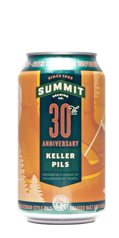 30th Anniversary Keller Pils by Summit Brewing Co.
