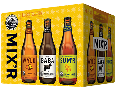 Uinta Summer Mix'r Beer Connoisseur