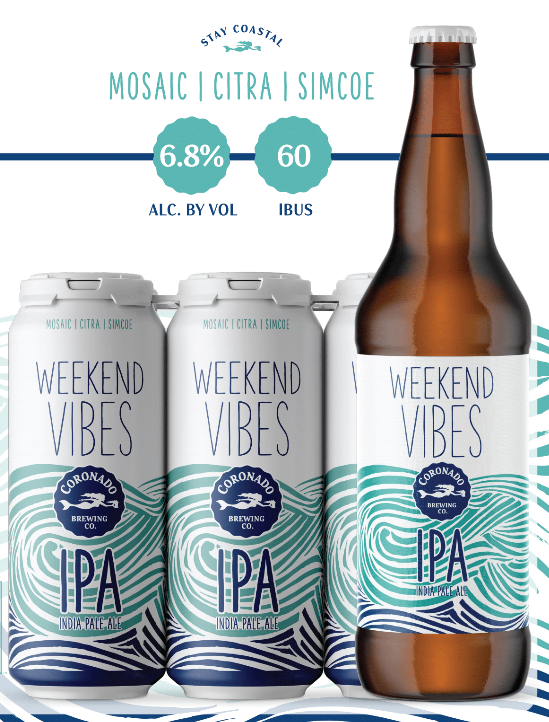 Coronado Brewing Unveils Two New Year-Round Beers in 16-Ounce Cans